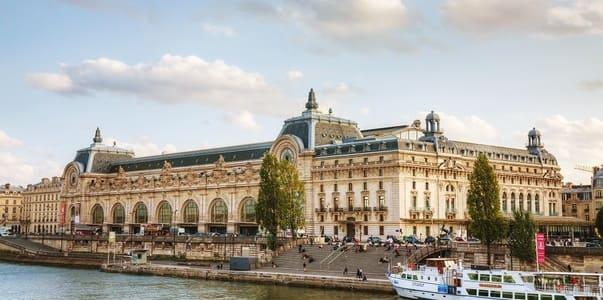 Musée d'Orsay vu depuis la Seine
