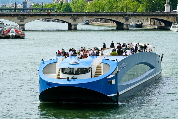 La terrasse du Paris en navigation