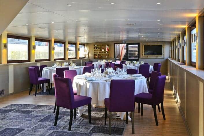 Déjeuner privatif à bord du Signac