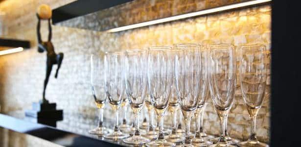 Coupes de Champagne à bord du Signac