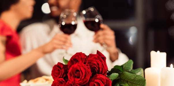 Bouquet de roses Saint-Valentin Paris
