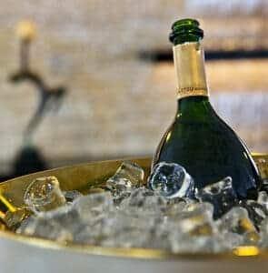 Champagne à bord du Signac