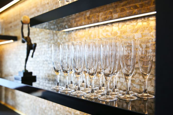 Coupes de Champagne sur le Signac