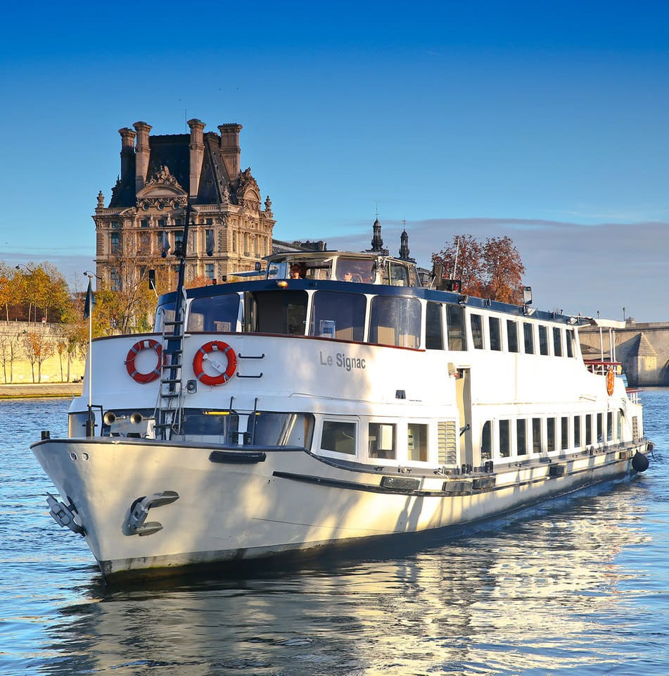 Le Signac en navigation sur la Seine