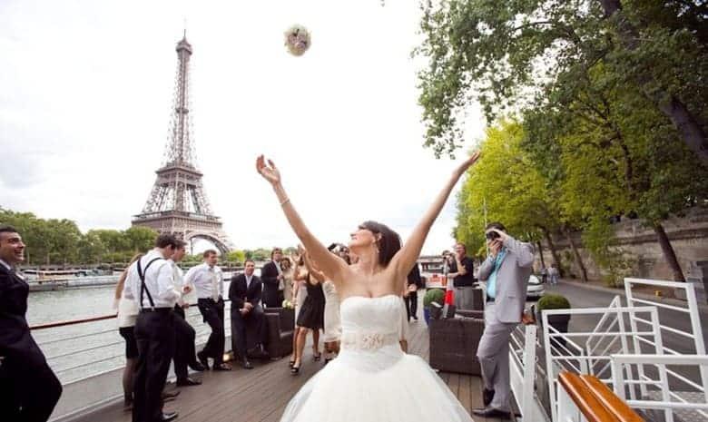 Mariage sur la terrasse du Montebello